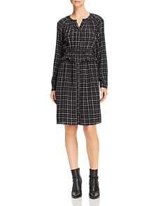 Rebecca Taylor - Ruffled Plaid Silk Dress